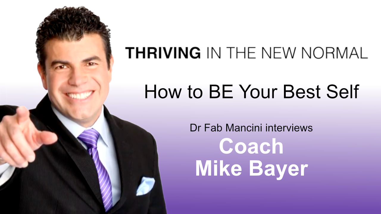 How to be Your Best Self