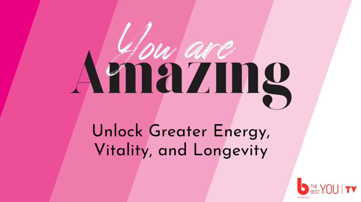 "Diana McKean Israel and Sebastian Werner  -""Unlock Greater Energy, Vitality and Longevity"""