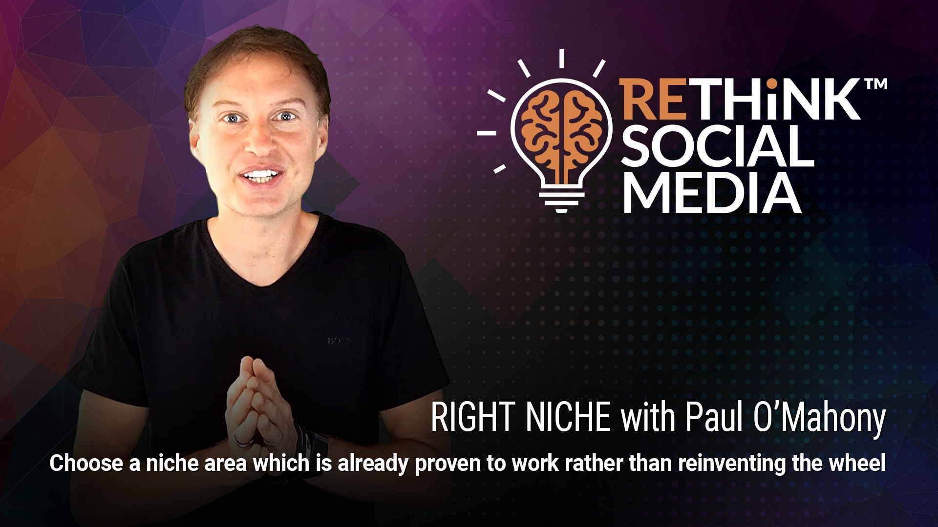Episode 2 - Right Niche with Paul O'Mahony